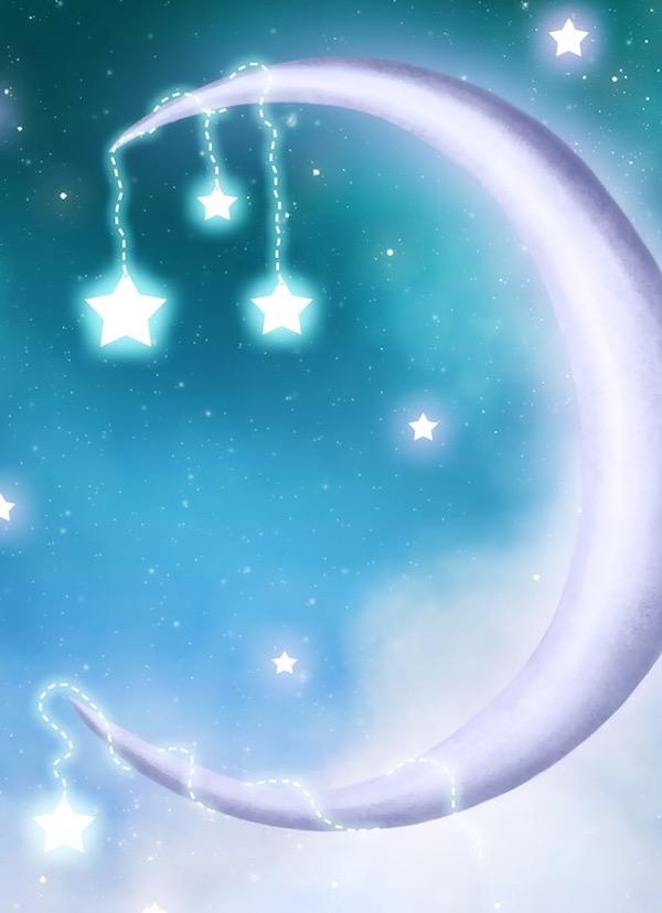 星盘推运:行运海王星合到(0度)本命月亮